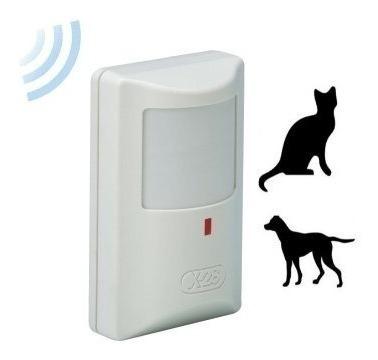 sensor movimiento inalambrico antimascotas pir pasivo md70w pr alarmas