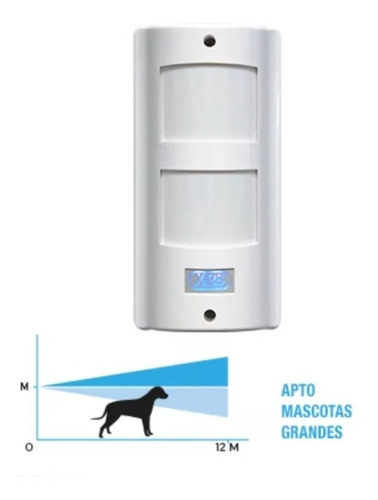sensor movimiento infrarrojo exterior mx51 mpxh x28 - tofema