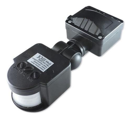 sensor movimiento luz 180º 10m 1200w ip54 de reflectores