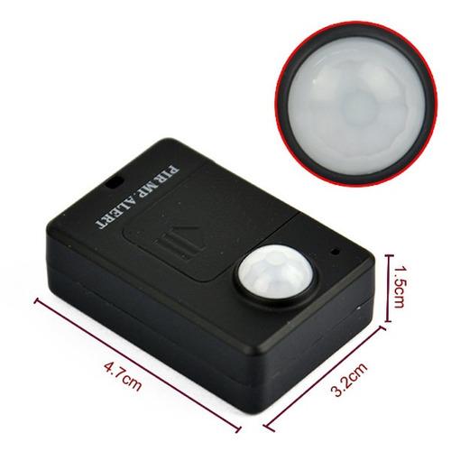 sensor movimiento pir alarma microfon oculto llama a celular