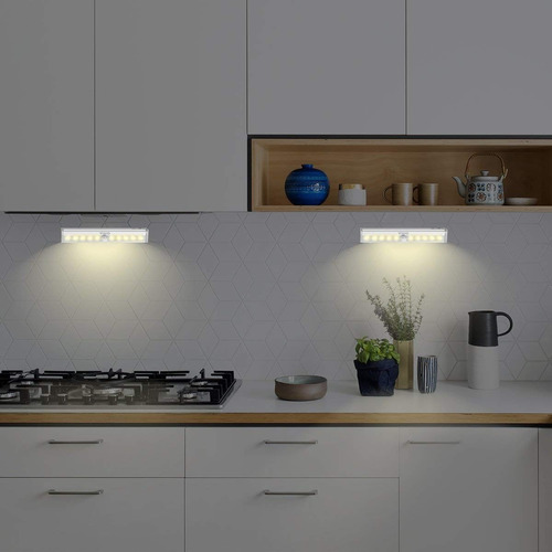 sensor night light, luz de pared portátil con batería y tira
