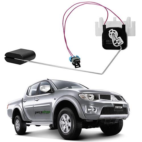 sensor nível boia combustível l200 triton flex/dies. ds23158