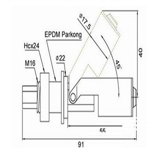sensor nivel tipo boya interruptor flotador medidor nivel
