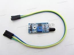 sensor obstaculos infrarojo arduino pic robot auto