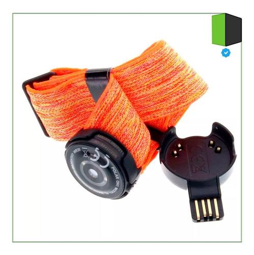 sensor optico de frecuencia cardíaca polar oh1 banda naranja