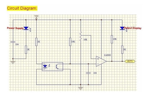 sensor optico horquilla velocidad tacometro lm393 arduino