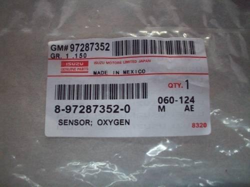 sensor oxigeno chevrolet luv dmax 3.5 nuevo original