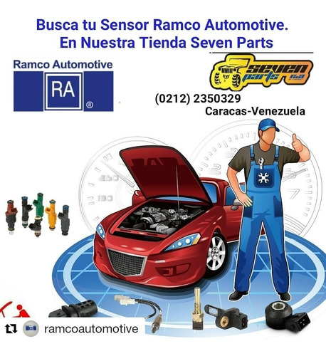 sensor oxigeno dodge ram 1500/2500/3500 04/06 ramco sp