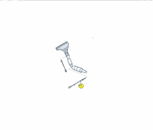 sensor oxigeno / sonda lambda jetta 2.5l 06a906262ed