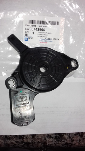 sensor pare neutro optra gm 93742966