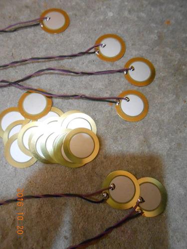 sensor piezoelectrico baterias electronicas 35mm de diametro