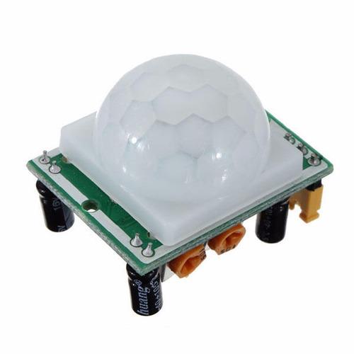 sensor pir hc-sr501 detector de movimiento arduino raspberry