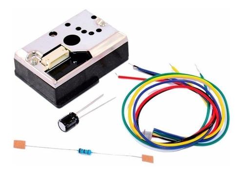 sensor polución particulas polvo sharp gp2y1010au0f arduino