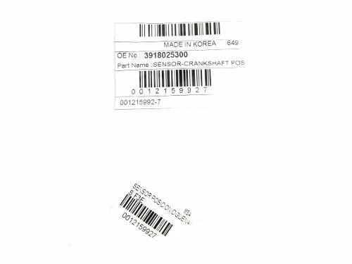 sensor posicion cigueñal kia sportage 2011-2013 korea