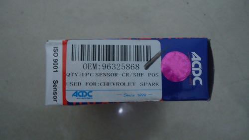 sensor posicion cigüeñal spark matiz acdc 96325868 rt