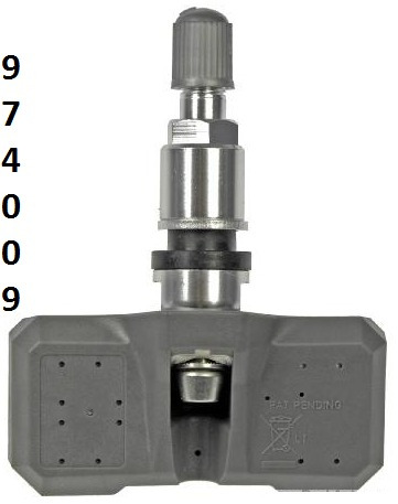 sensor presion de llanta gmc sierra  2007 - 2012 nuevo!!!