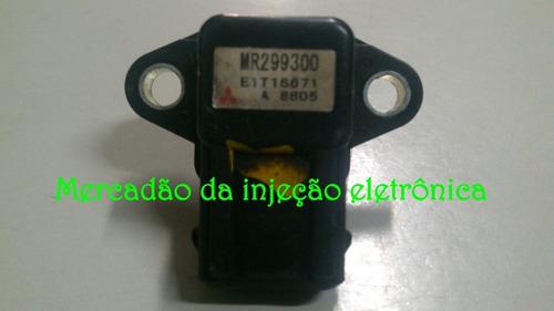 sensor pressão turbina mitsubishi pajero 2.5 l200 - mr299300