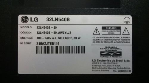 sensor recepção de cr tv lg 32ln540b