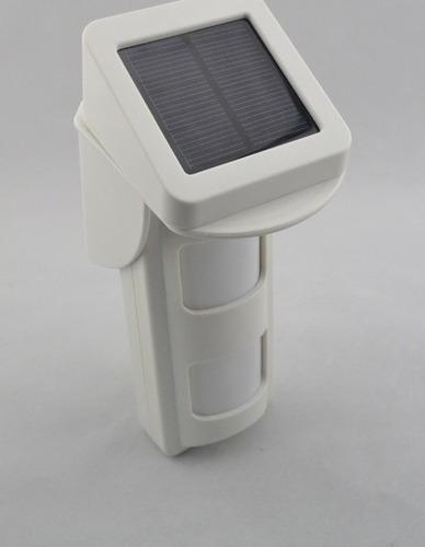 sensor solar exterior inalámbrico