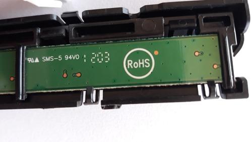 sensor + teclado +cabo  philips 42pfl4007 usada
