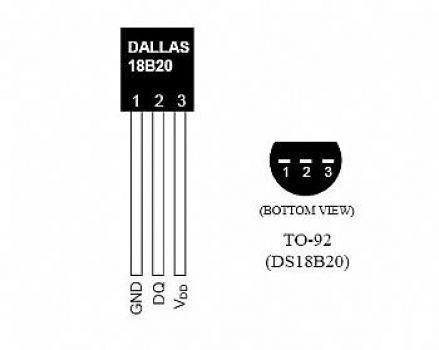 sensor temperatura ds18b20 arduino pic 18b20 com nota fiscal