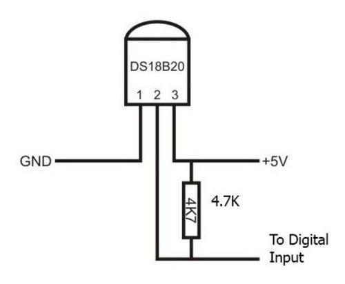 sensor temperatura ds18b20 sencillo, arduino, pic, raspberry