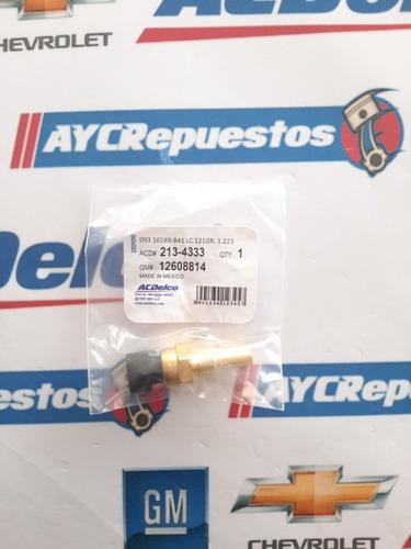 sensor temperatura silverado 5.3 c3500 6.0 12608814 original