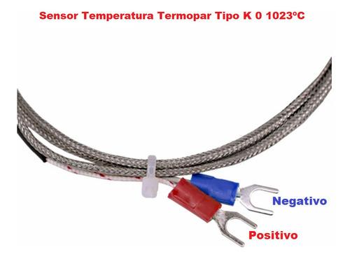 sensor temperatura termopar termocupla tipo k 0 1023ºc