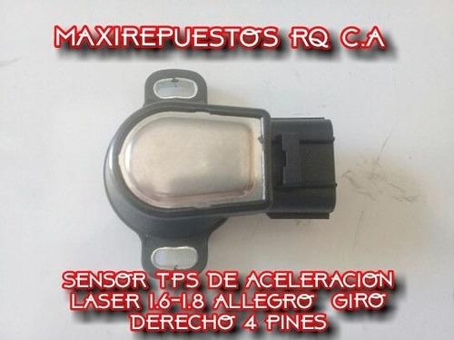 sensor tps aceleracion ford laser 1.6 1.8 allegro 4pines