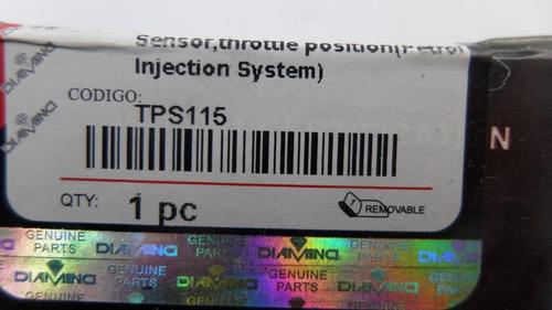 sensor tps chery tigoo 2.4 corsa lumina blazer century
