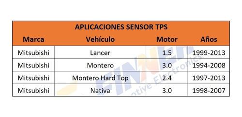 sensor tps mitsubishi montero nativa lancer montero hard top