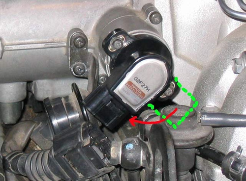 sensor tps toyota corolla 1999-2002 original usada