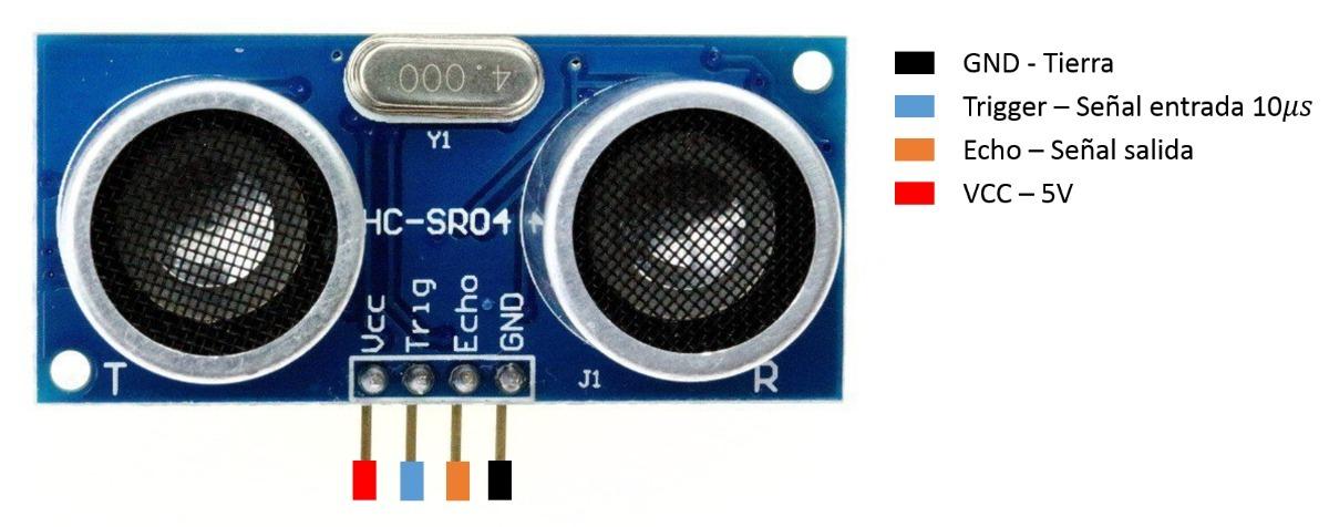 Sensor Ultrasonico Hc Sr04 30 00 En Mercado Libre