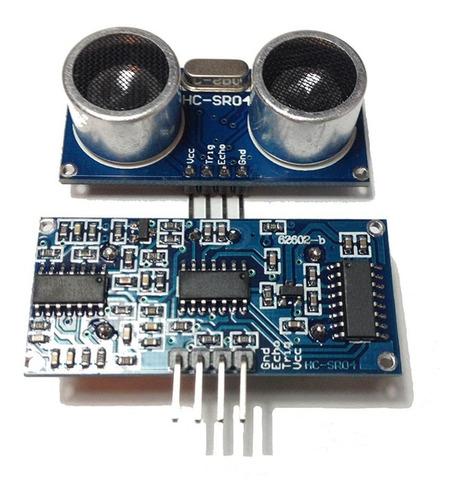 sensor ultrasonico hc-sr04 arduino robotica pic