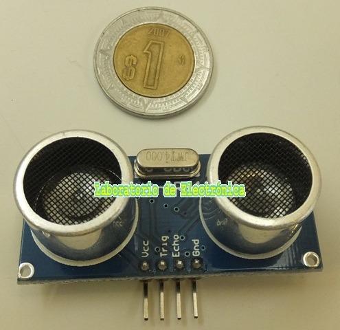 sensor ultrasónico medición de distancia hc-sr04 arduino