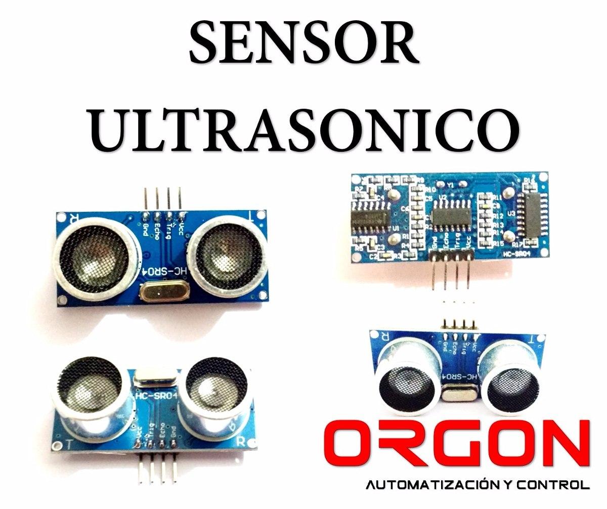 Sensor Ultrasonico Modulo Para Arduino Robot