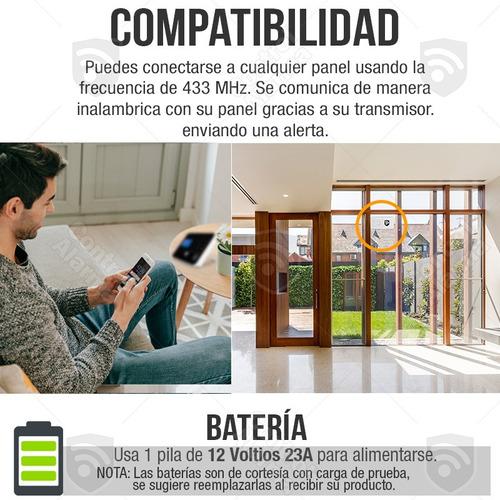 sensor vibracion ventanas paredes alarmas para casa negocio