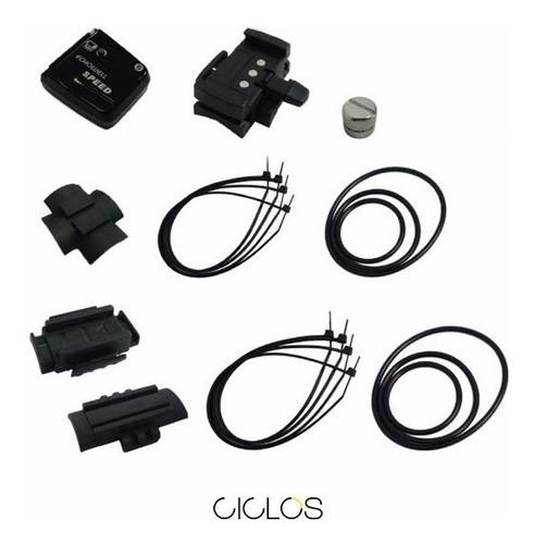 sensor y accesorios ciclocomputadora echowell - ciclos
