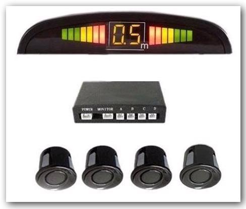 sensores de estacionamiento colocado fiat doblo qubo