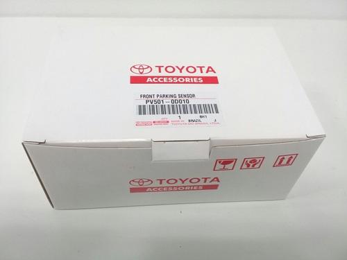 sensores de estacionamiento delanteros toyota yaris 2019
