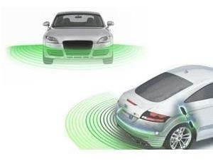 sensores de estacionamiento delanteros & traseros sonoros -p