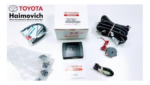 sensores de estacionamiento traseros toyota  etios sedan