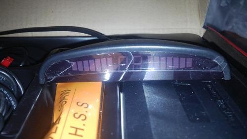sensores de retroceso pantalla led 10 cm