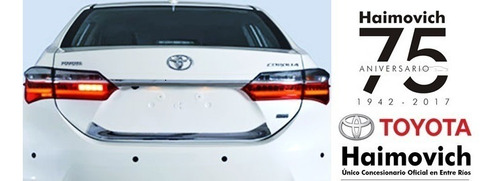 sensores estacionamiento original toyota corolla 2015-2019