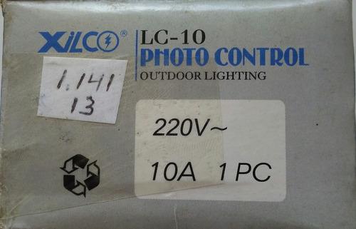 sensor/photo celda para iluminacion exterior lc10 220v xilco