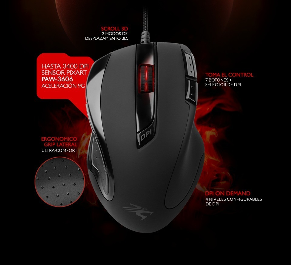 MOUSE GAMER APHELION