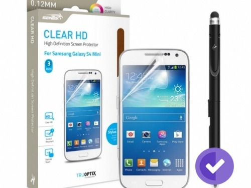 sentey protector galaxy s4 mini hd clear x3
