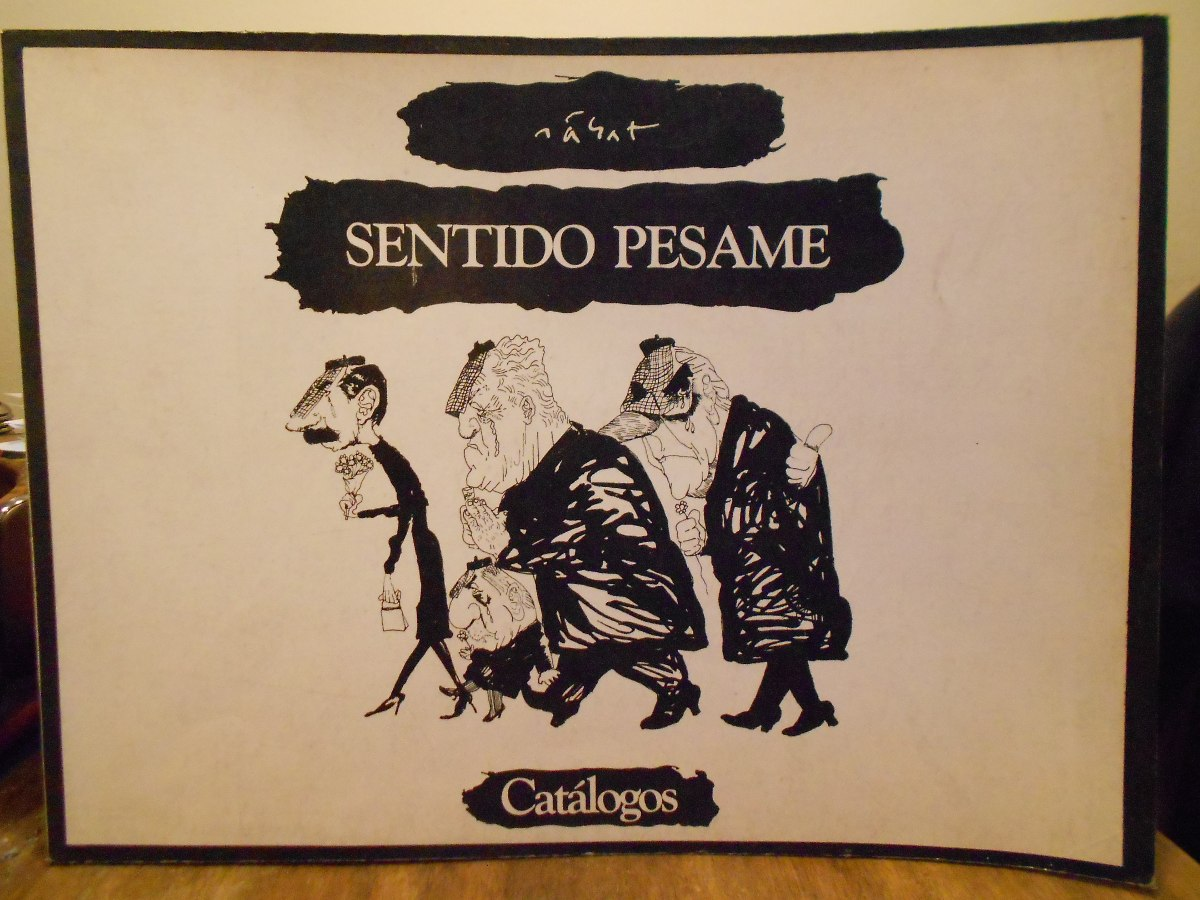 Sentido Pesame Dibujos De Hermenegildo Sabat 30000 En Mercado Libre