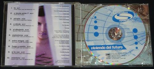 sentidos opuestos cd viviendo del futuro chacho bibi gaytan