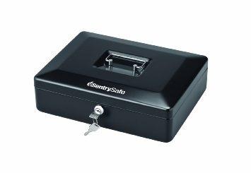 sentrysafe cb12 medio de la caja de efectivo, negro